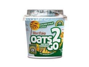 Mornflake Instantní ovesná kaše se zlatým sirupem (Oats 2 GO golden syrup) 62 g