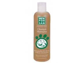 Menforsan Přírodní šampon s vůní skořice eliminující zápach srsti pro psy 300 ml