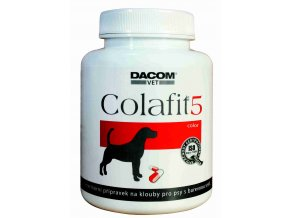 Dacom Pharma Colafit 5 na klouby pro barevné psy 50 tob.
