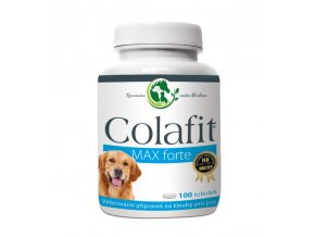 Colafit Max Forte na klouby pro psy 100 tob.