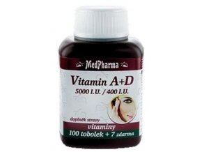 MedPharma Vitamín A + D 107 tob.