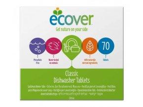 Ecover Tablety do myčky na nádobí XL 70 tbl.