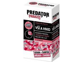Predator Parazit sérum 100 ml + šampon 100 ml  + hřeben všiváček ZDARMA