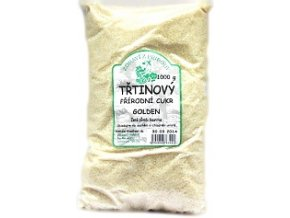 Biokamo Třtinový cukr Golden světlý jemný 1 kg