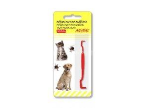 Háček ALFA na klíšťata Animal 1 ks