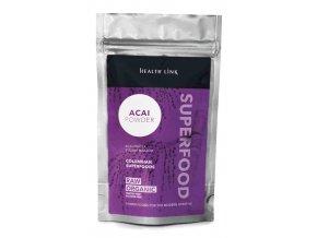 Health Link Bio Acai prášek Raw 80 g