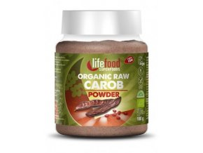 Lifefood Bio Karobový prášek Raw 180 g DMT: 01.09.2019
