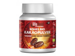 Lifefood Bio Kakaový prášek Raw 150 g