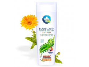 bodycann kids babies sampon a sprchovy gel 2v1 250 ml