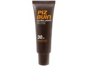 Piz Buin Ultra lehký nemastný fluid na opalování obličeje Ultra Light SPF30 50ml