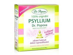 Dr. Popov Psyllium indická rozpustná vláknina 500 g