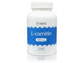 Vieste L-carnitin 500 mg 50 kapslí
