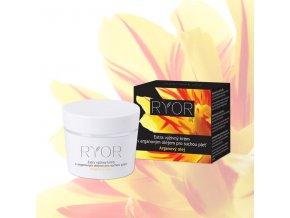 Ryor Extra výživný krém s arganovým olejem pro suchou pleť 50 ml
