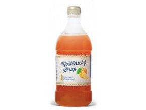 Moštěnický sirup Pomeranč 700 ml
