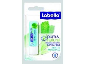 Labello Balzám na rty Natural Mint & Minerals 4,8 g