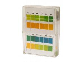 Kompava Indikační pH papírky (4,0 - 7,5) 100 ks