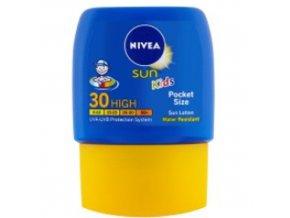 detske kapesni mleko na opalovani spf 30 sun kids pocket size face body milk 50 ml