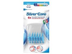 SilverCare Mezizubní kartáček široký 1,3 mm 6 ks