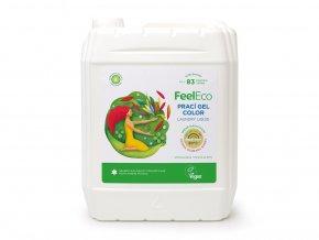 Feel Eco Prací gel Color na barevné prádlo 5 L s dávkovací pumpičkou