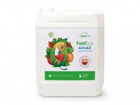 Feel Eco Aviváž s vůní čerstvého ovoce 5 L s dávkovací pumpičkou