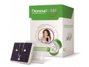 Simply You Donna Hair Forte 90 tob. + náušnice Swarovski ZDARMA