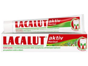 Lacalut Aktiv Herbal zubní pasta 75 ml