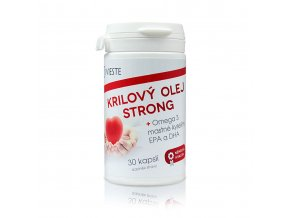 Vieste Krilový olej Strong Omega 30 kapslí
