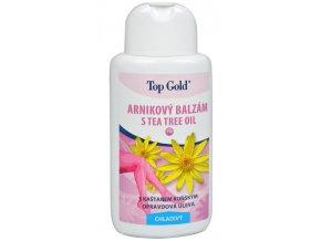 CHEMEK TopGold - Arnikový balzám s Tea Tree Oil chladivý 200 ml