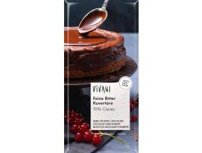 Bio hořká čokoláda na vaření VIVANI