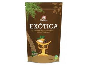 Iswari Exótica (Kakaové boby v kokosovém cukru) 100 g