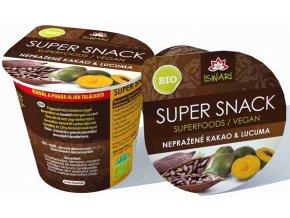 Iswari Bio SuperSnack nepražené kakao & lucuma Raw 60 g