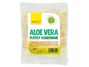 Wolfberry Aloe vera kandované plátky 100 g