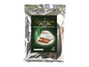 DNM Zelená káva s příchutí skořice 500 g