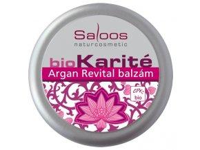 Saloos Bio Karité Argan revital balzám 19 ml