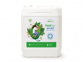 Feel Eco Aviváž s vůní bavlny 5 L s dávkovací pumpičkou