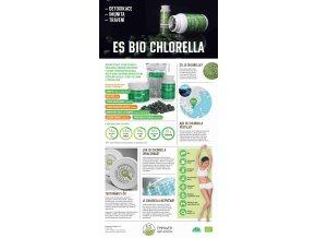 es bio chlorella prasek 100 g+Hlíva zdarma