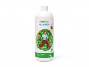 Feel Eco Prostředek na nádobí, ovoce a zeleninu s vůní maliny 1 L
