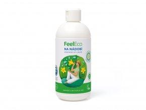 Feel Eco Prostředek na nádobí, ovoce a zeleninu s vůní okurky 500 ml