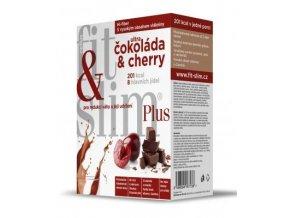 Celius Fit and Slim plus Čokoláda & Cherry 2x208 g