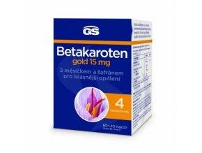 GS Beta karoten Forte s měsíčkem 80 kapslí + 40 kapslí ZDARMA