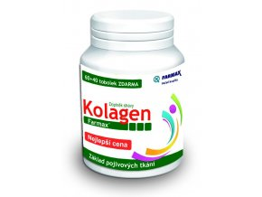 Farmax Kolagen 60 tob. + 40 tob. ZDARMA