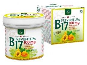Herbamedicus B17 Preventum 100 mg 75 tob.