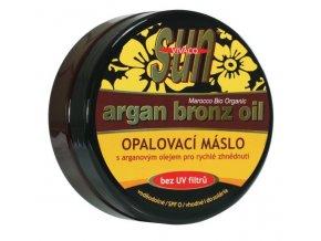 Vivaco Sun Bronz opalovací máslo pro rychlé zhnědnutí 200 ml