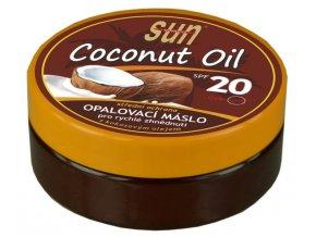 Vivaco Sun Opalovací máslo s kokosovým olejem SPF 20 200 ml
