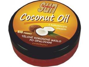 Vivaco Sun Tělové kokosové máslo po opalování 200 ml