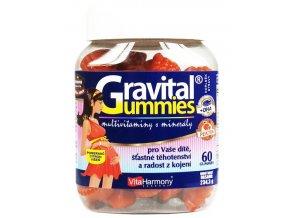 VitaHarmony Gravital Gummies 90 + 10 gummies ZDARMA