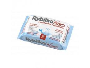 HBF Dětské jemné vlhčené ubrousky s panthenolem Rybilka Neo 72ks