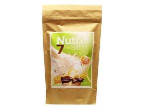 Nutricius NutriSlim 7 days banán s čokoládou 280 g