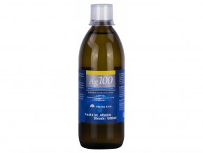 kolodni stribro 40ppm 500 ml