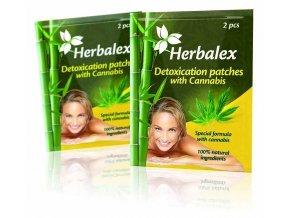 Herbalex - detoxikační náplasti s konopím 2 ks